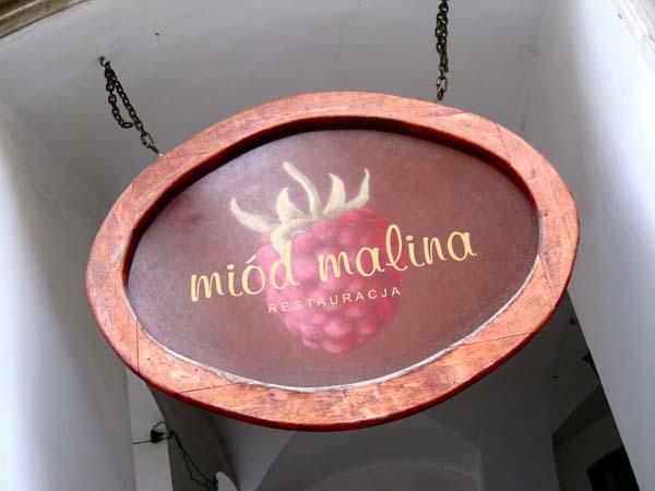 Miód Malina - betyr honningbringebær på norsk. Foto: Lars Idar Waage