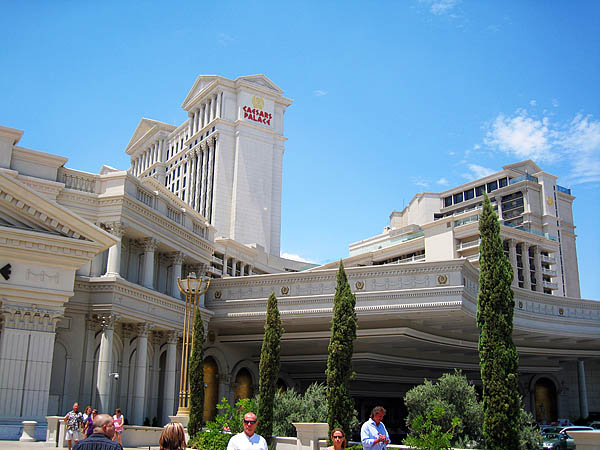 Caesars Palace i Las Vegas. Et kjempehotell-casino-shoppingsenter-eventsenter etc.