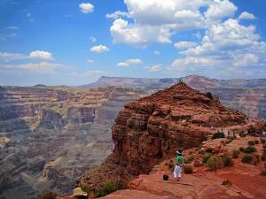 Det er flott i Grand Canyon, og enda flottere fra helikopter!