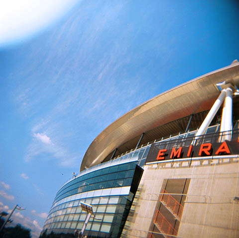 Groundhopping II: Arsenal er ikke mitt lag, men fin stadion. Emirates Stadium.