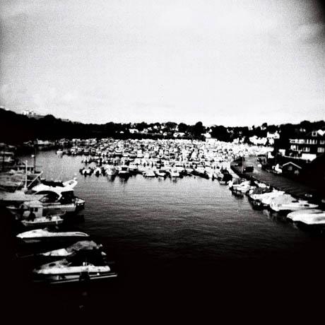 Nok av båter i Hillevågsvatnet.