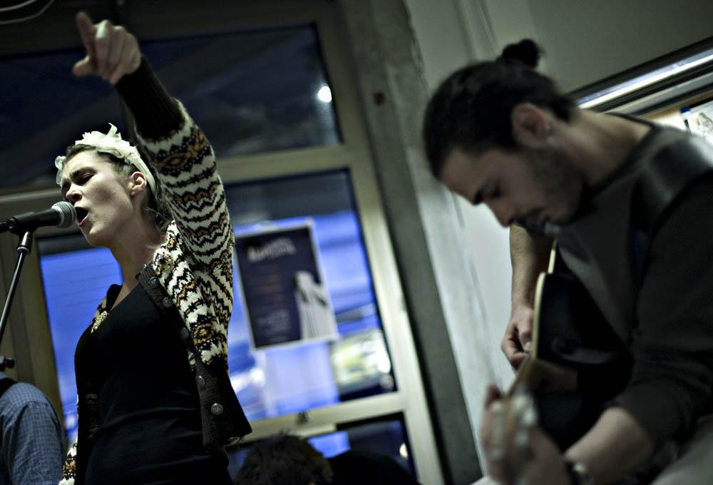 Terraex - konsert på musikkbiblioteket