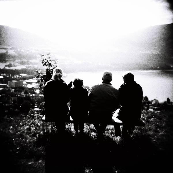 Hadde Holga vært et perfekt kamera kunne den flotte utsikten over Vossevangen.