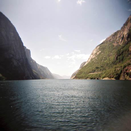 Lysefjorden sett fra Lysebotn.